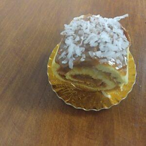 Dulce De Leche Coconut Roll