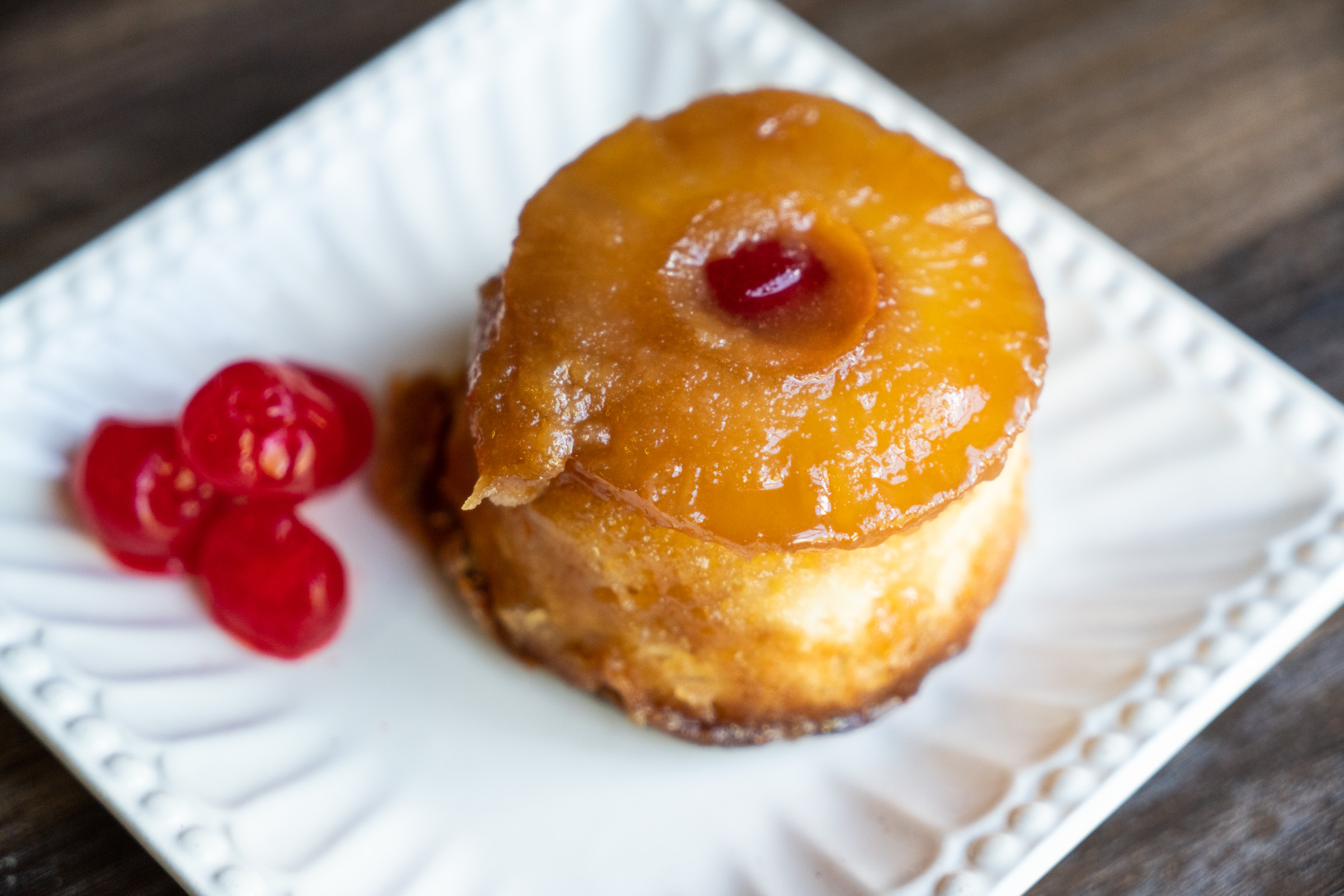 Pineapple Upside Down Cake Mini