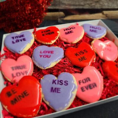 Assorted Heart Shape Cookies