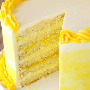 split lemon cake