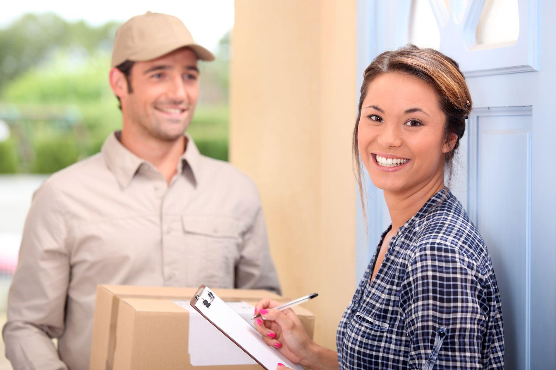 on-door delivery