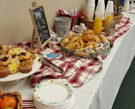 catering breakfast
